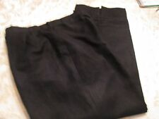 "LARRY LEVINE SPORT BLACK LINED PANTS 24"" INSEAM SIZE 10"