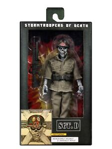 """NECA - S.O.D Stormtroopers of Death - Sgt. D (Anthrax) Clothed 8"""" Action Figure"""