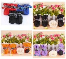 Waterproof Soft Anti Slip Puppy Shoes Dog Snow Warm Boots Sock Cotton