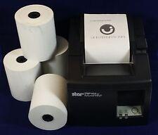 "3-1/8"" x 230'  THERMAL POS RECEIPT PRINTER ROLL PAPER BPA FREE USA - 150 ROLLS"