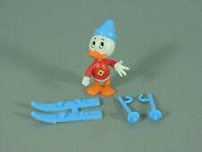 STECKIS: Donald und seine Freunde 1988 - Neffe mit Skiern BLAU!!