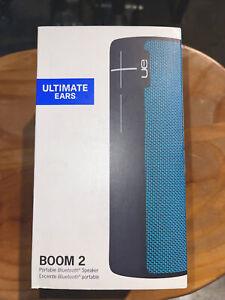 UE BOOM 2 Wireless Bluetooth Waterproof Rechargeable Mobile Speaker  (Blue)NEW