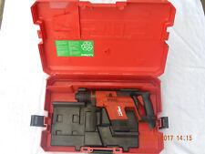 Hilti batería taladro martillo te 5 a sólo body sin akkku en la maleta, funcional