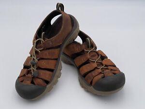 EUC Keen Newport Sandals Mens Size 8 Waterproof Water Beach Hiking Fishing Shoes