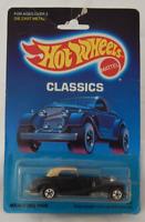 Hot Wheels Classics 1937 Mercedes 540K Black Basic Wheels Vintage Protector Pack