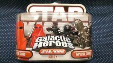 Star Wars Galactic Heroes Royal Guard + Imperial Gunner.