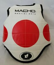 Macho Martial Arts Size 1 Taekwondo Approved Chest Guard Sparring Gear preowned