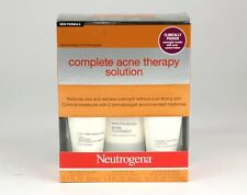 *Neutrogena Complete Acne Therapy Solution 3 Piece Kit Exp 10/2021