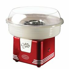 Nostalgia Electrics Red Retro Hard Candy Cotton Candy Maker Machine NIB