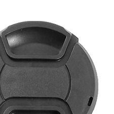 3x(49mm macchina fotografica anteriore Obiettivo del tappo di protezione nero HK