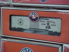 LIONEL,,,# 36244,,,TEDDY BEAR CENTENNIAL BOXCAR