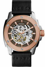 Men's Fossil Machine Automatic Steel Watch ME3082