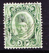 ZANZIBAR 1908-09 Sultan 3c. Vert Jaune