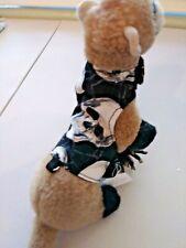 Ferret Reversible Harness - Spider Webs, Skulls - S/M