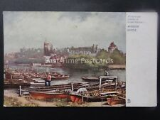 WINDSOR CASTLE Across the River Thames c1904 Postcard by Raphael Tuck 794