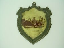 Antique Firefighter Horse Drawn Badge from the Late 1800s