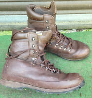 BRITISH ARMY SURPLUS ISSUE BROWN ALTBERG LEATHER COMBAT BOOT G2 BOOTS-SAS/PARA