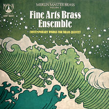 MRF 86041 Merlin Master Brass Vol. 2 Fine Arts Brass Ensemble [1986] EX/NM