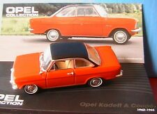 OPEL KADETT A COUPE 1962 1965 ROUGE IXO 1/43 ALTAYA RED