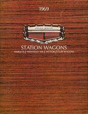 Mercury Station Wagons 1969 Canadian Market Brochure Meteor Montego Marquis Club