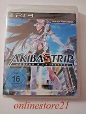 Akibas Trip 2  Undead & Undressed PlayStation 3 NEU PS3