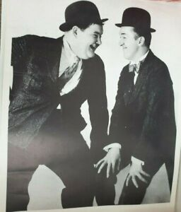 """4 Black and White Laurel and Hardy wall posters 25"""""""