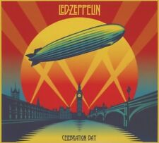 LED ZEPPELIN - CELEBRATION DAY 2 CD LIVE HARD ROCK POP NEW+