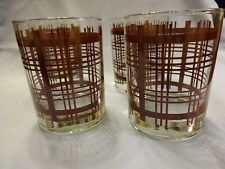 Stotter Glasses Vintage set 0f 4 in box NIB. These are glass