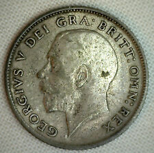 1923 Great Britain 6 Pence KM# 815a.1 XF World Coin Silver Genuine English #P