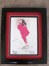 R C Gorman, Woman in Pink Blouse Navajo Albuquerque