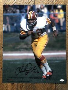 Charley Taylor Signed 16x20 Photo - Redskins JSA Certified! HoF!