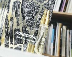 Comme des Garcons Wonderoud 1ml 3ml 6ml 10ml / Cologne Oud Wood Wonderwood Black