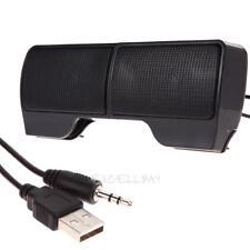Mini Portable USB Stereo Speaker Soundbar 6W for Notebook Laptop Mp3 Phone PC