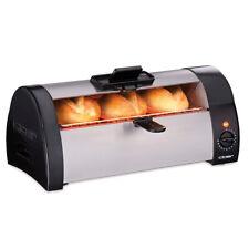 Cloer Brötchenbäcker 3080 Toaster zum Aufbacken Überbacken schwarz (B-Ware)