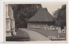 East Bergholt Bell Cage RP Postcard, B438