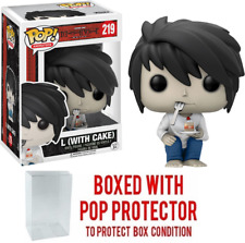 Funko POP! Animation Death Note L (With Cake) #219 Special Edition w/ Case