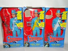 Thunderbirds Virgil - Alan & Scott Tracy Talking Action Doll Figures Vivid