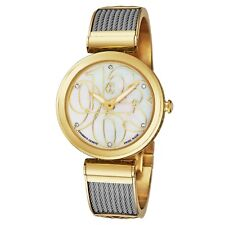 Charriol Women's Forever Diamond Dial Stainless Steel Quartz Watch FE32104004