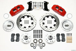 Wilwood Dynapro 6 Front Brake Kit Fits 1964-72 Chevelle,1967-1969 Chevy Camaro -