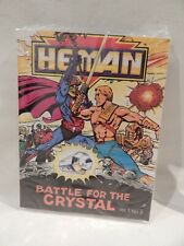 The New Adventures / He-Man (Masters Universe) BATTLE FOR THE CRYSTAL Mini Comic