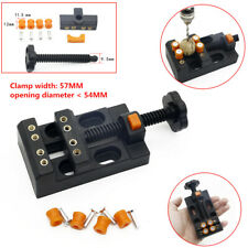 Mini Engraving Watch Bench Table Fixed Vise Vice Clamp Holder Repair Tools Case