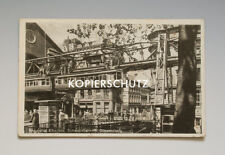 Ansichtskarte WUPPERTAL DÖPPERSBERG SCHWEBEBAHN um 1943 !?