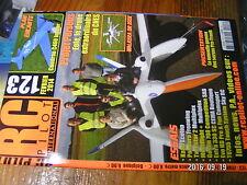 2µ?§ Revue RC Pilot n°123 plan encarté Caudron C460 Indoor / Ka8b STuKA Extra ..