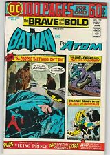 Brave And The Bold #115 VF+ 8.5 Batman The Atom Dr. Fate Viking Prince Mystery