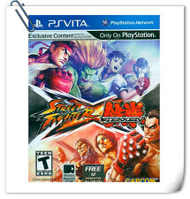 PSV STREET FIGHTER X TEKKEN PlayStation VITA Games Capcom Fighting