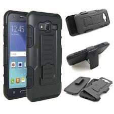 Shockproof Hybrid Armor Tough Hard Case Cover Belt Clip For Samsung Galaxy Phone