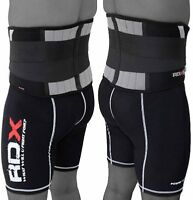 RDX Weight Lifting Lumbar Lower Back Support Belt Brace Pain Power Gym Training