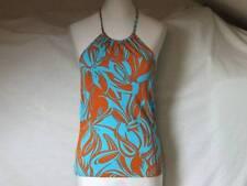 per Una @ M&s Stretch Halterneck Top Ladies 12 Teen Girl Holiday Beach