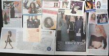 DANA INTERNATIONAL Diva Eurovision ISRAEL MAGAZINE CUTTINGS דנה אינטרנשיונל
