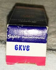 NOS 6KV8 vacuum tube radio TV valve, TESTED
